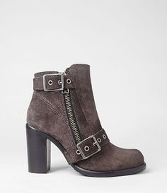 Womens New Jules Heel Boot (Shark) | ALLSAINTS.com