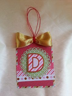 DCWV Jolly Whimsy Stack-cute for tags for family presents?