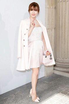 Snsd Tiffany Paris fashion week fashion style