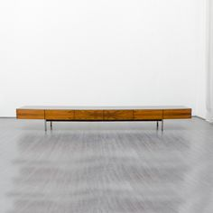 Noble 60s xxl - lowboard, rosewood from Velvet-Point by DaWanda.com width 300cm, depth 59cm, height 37,50cm