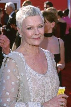 This is exactly the haircut I wanted when I was 17. It took me years to accept that if I kept it short, my thick curly hair would always make me look more like Tom Hanks than Judi Dench.