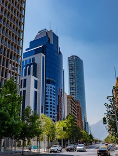 Avenida Vitacura, Santiago, Chile. Foto_John Bankson