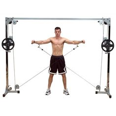 Body-Solid Powerline Cable Crossover Machine for Weight Lifting and Bodybuilding Cable Crossover Machine, Cable Machine, Home Gym Equipment, No Equipment Workout, Fitness Equipment, Training Equipment, Gym Workouts, At Home Workouts, Training Workouts