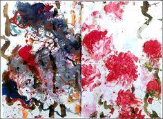 Cy Twombly (1928-2011) peintre, dessinateur, sculpteur et photographe américain…                                                                                                                                                                                 Plus