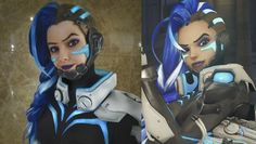 Sombra cyberspace cosplay by EnotArt