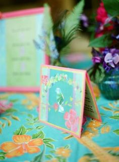 Can I still change the color scheme?:D Tropical Tabletop, Caribbean Party, Dessert Table, Lush, Color Schemes, Wedding Invitations, Gift Wrapping, Concept, Entertaining