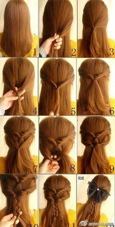So easy & simple hairs ideas