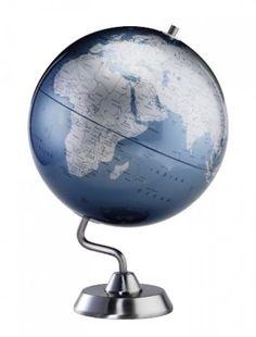 Found it at Clockway.com - 12in Replogle Diamond Marquise Blue Desk Globe - CRP1892
