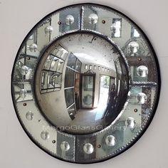 Antique Convex Mirror Bubble Bima >> Venetian Mirror Manufacture Wholesale Size : 78 cm x 78 cm 98 cm x 98 cm Convex Mirror, Mirror Art, Mirror Tiles, Cool Mirrors, Round Mirrors, Venetian Mirrors, Antique Mirrors, Glass Suppliers, Mirrored Furniture