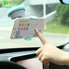 FLOVEME Universal Car Phone Holder 360 Degree Rotation Air Vent Mount Car Holder Styling Mobile Phone Stand Support For iPhone   Price: 4.05 USD