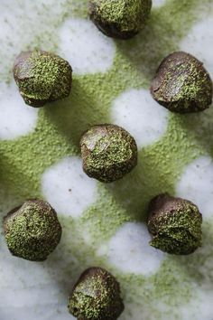 In the Kitchen With: Beau Ciolino's Matcha Truffles