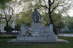 Johannes Brahms, Resselpark, Vienna