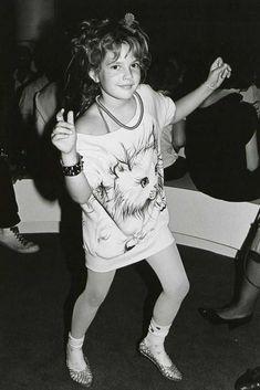 "Drew Barrymore au ""Studio 54"""