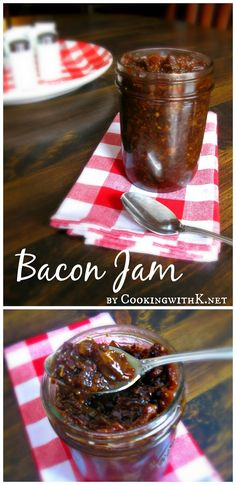 Cooking with K - Southern Kitchen Happenings: Bacon Jam {An Irresistible Spread!}
