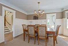 Dinning Room - - coved ceiling