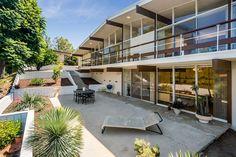 DeLeeuw mid-century Residence - exterior back