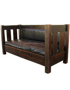 Limbert Mission style couch.