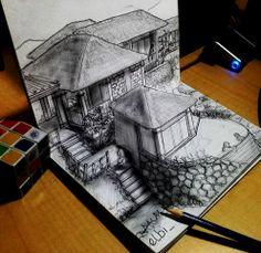 Illution 3D sketch