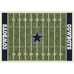 Dallas Cowboys Football Field Rug