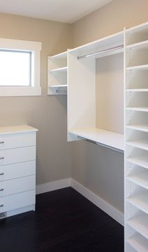 Upper Mission Classic Walk-In - transitional - Closet - Other Metro - STOR-X Organizing Systems, Kelowna