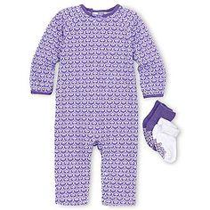 Little Maven™ 3-pc. Coverall Set – Girls newborn-9m - jcpenney