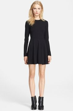 """#Theory """"Tillora"""" Long Sleeve Fit & Flare Dress. I bought this one today, too.  OOPS."""