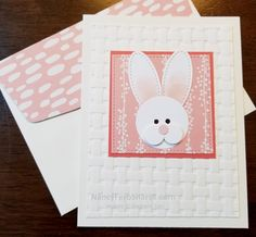 Punch Art Bunny instructions