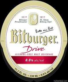 mybeerbuzz.com - Bringing Good Beers & Good People Together...: Bitburger - Drive Alcohol-Free