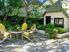 Jewel-box garden in Carmel-by-the-sea. <3 the planter