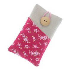 Fabric iPhone 6 case / iPhone 5 case / iPhone 4 by TeresaNogueira