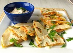 Smoked Salmon Quesadillas | Delicious Left Over Meals by Homemade Recipes at http://homemaderecipes.com/uncategorized/10-easy-recipes-leftovers/