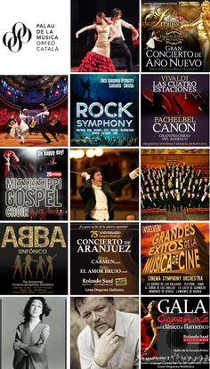 Concerts al Palau de la Música Catalana (Barcelona). Primera quinzena de gener 2016