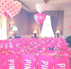 Image via We Heart It #balloon #cute #pink #shoppingbag #victoriassecret #vspink