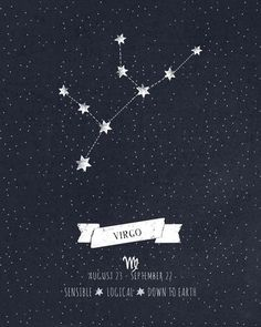 Virgo: sensible, logical, down to earth