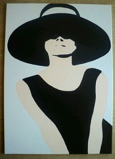 Audrey Hepnurn-Pop Art-Canvas Painting xL