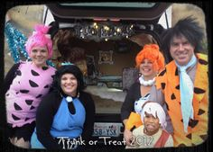 sublimeliving our trunk your treat flintstones style - Halloween Flintstones