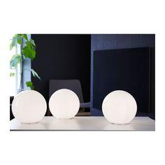 "FADO Table lamp  - IKEA; $20; 10""dia; 9""h; 400 lumen bulb"