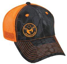 Black Kryptek/Orange Hat