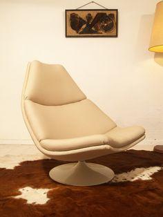 Niet de kleur, maar wel onze eerste stoel