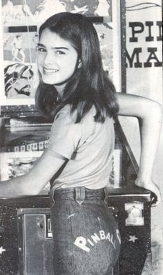 Brooke Shields,1977 SHE WAS IN A MOVIE MADE IN PATERSON NJ CALLED ALICE SWEET ALICE
