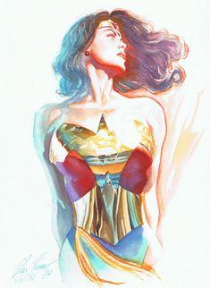 Wonder Woman Art Gallery | wonder woman by alex ross by razr310 fan art digital art other 2010 ...