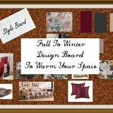 Linked to: www.comfortspringstation.com/2016/10/13/going-cozy-my-fall-to-winter-design-board/