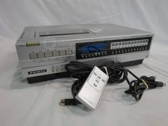 Vintage 1983 Sanyo Beta VCR Tape Player Recorder.  Yep, still got it.....as well as a few Beta tapes.
