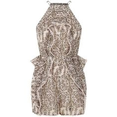 Zimmermann Henna Frippery Playsuit (1,985 PEN) ❤ liked on Polyvore featuring jumpsuits, rompers, dresses, playsuit romper, spaghetti strap romper, zimmermann, floral romper and floral print romper