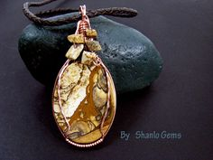 African Queen Jasper Pendant by shanlo