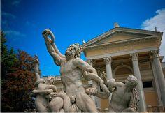 The statue of Laocoon near the Odessa Archeological Museum #Odessa #Ukraine #museum #art #archeology #statue