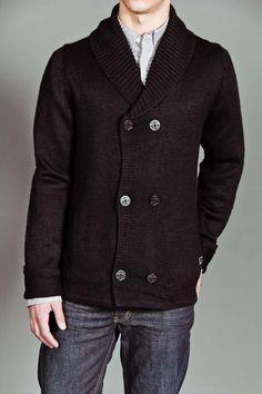 Knitter Peacoat Black