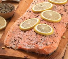 Cedar Plank Copper River Salmon