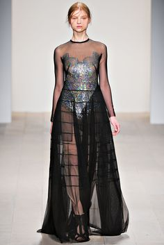 Marios Schwab, Fall 2012, Ready-To-Wear Collection @MTV Iggy
