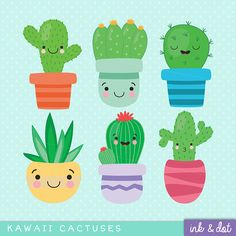 Improving Upon Office Environment Air Excellent With Indoor Crops - Superior For Business Kawaii Cactus Clip Art Cute Succulent Cacti Kawaii Anime Cactus Flower, Flower Art, Art Flowers, Cactus Art, Tags Png, Kawaii Anime, Baby Announcement Cards, Birth Announcements, Cactus Drawing